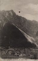 """view """"Ascent of the balloon Sirius, Chamonix, France digital asset: """"Ascent of the balloon Sirius, Chamonix, France"""
