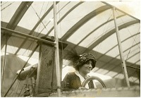 view De Laroche, Raymonde; Voisin 1909 Biplane Family. [photograph] digital asset number 1