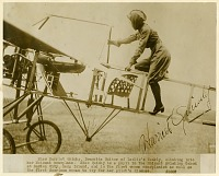 view Quimby, Harriet; Moisant (Co) 1911 Monoplane (BlTriot Type). [photograph] digital asset number 1
