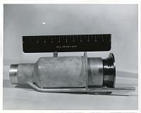 view MBV-3 Test Missile (Bell), Rocket Engine. [photograph] digital asset number 1