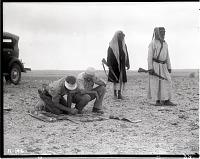 view California-Arabian Standard Oil Co. Saudi Arabia Expedition; Saudi Arabians; Petroleum Prospecting. [photograph] digital asset number 1