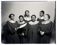 view Indoor Group Shot of Six Women, Spiritual Fire Singers digital asset number 1