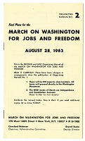 view <I>March on Washington for Jobs and Freedom: Organizing Manual No. 2</I> digital asset number 1