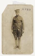 view Photographic postcard of Cpl. Lawrence Leslie McVey in uniform digital asset number 1