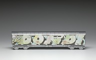 view Toy train car with print of grafitti artwork by Dondi White digital asset number 1
