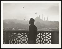 view <I>On Galata Bridge 1966, Istanbul on the Golden Horn</I> digital asset number 1