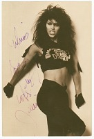 view Signed photographic postcard of Vanity with envelope digital asset number 1