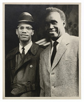 view Photograph of Malcolm X and Kenneth Kaunda digital asset number 1