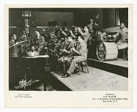 view Photograph of Mary Lou Williams playing piano with Andy Kirk and his orchestra digital asset number 1