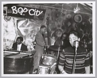 view <I>Carmen McRae swings with the band, c. mid 1950s</I> digital asset number 1