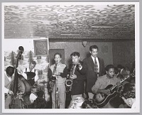 view <I>Boys in the band, names unknown, c. mid 1950s</I> digital asset number 1