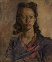 view <I>Mabel (Portrait of the Artist's Wife)</I> digital asset number 1