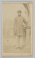 view Carte-de-visite of an unidentified Union soldier digital asset number 1