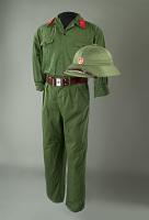 view North Vietnamese Army Guard Uniform digital asset: North Vietnam Army guard uniform