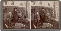 view Mark Twain / Phillip [sic] Seaman [paper stereograph.] digital asset: Mark Twain / Phillip [sic] Seaman [paper stereograph.]