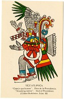 view Tezcatlipoca [picture postcard] digital asset: Tezcatlipoca [picture postcard].