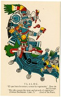 view Tlaloc [picture postcard] digital asset: Tlaloc [picture postcard].
