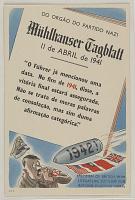 view DO ORGAO DO PARTIDO NAZI Muhlhauser Tagblatt ... O Fuhrer ja mencianov uma data. No fim de 1941, disse, a vitoria final estara assegurado ... digital asset: DO ORGAO DO PARTIDO NAZI Muhlhauser Tagblatt ... O Fuhrer ja mencianov uma data. No fim de 1941, disse, a vitoria final estara assegurado ...
