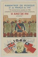 """view RIBBENTROP EM MUNIQUE ... """"Os acontecimentos passados em 1940 ja decidiram o resultado da guerra a favor da Alemanha O ANO DE 1941 prava-lo-a"""" digital asset: RIBBENTROP EM MUNIQUE ... """"Os acontecimentos passados em 1940 ja decidiram o resultado da guerra a favor da Alemanha O ANO DE 1941 prava-lo-a"""""""