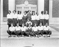 view Howard University women's sports team : [acetate film photonegative, ca. 1930s] digital asset number 1