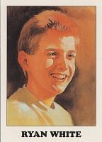 view Ryan White [trading card] digital asset: Ryan White [trading card].