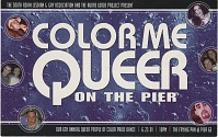 view Color Me / Queer / on the Pier [color postcard] digital asset: Color Me / Queer / on the Pier [color postcard, 2001].