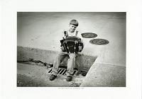 view Matthew Courville, Carencro [Louisiana], 1997 [black-and-white digitial inkjet photoprint] digital asset: Matthew Courville, Carencro [Louisiana], 1997 [black-and-white digitial inkjet photoprint].
