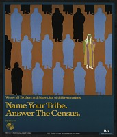 view Name Your Tribe. Answer the Census. digital asset number 1