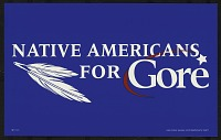 view Native Americans for Gore digital asset number 1