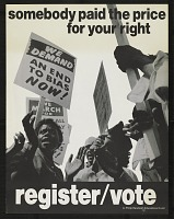 view Somebody Paid the Price for Your Right Register/Vote digital asset number 1