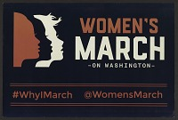 view Women's March on Washington poster, 2017 digital asset number 1