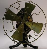 view Edison electric table fan digital asset: front