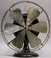 view General Electric model 1Z821 electric fan digital asset: front