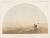 """view Chromolithograph of """"Mirage on the Colorado Desert"""" digital asset number 1"""