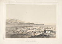 """view Chromolithograph of """"Los Angeles"""" digital asset number 1"""