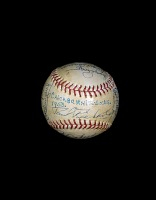 view Baseball, signed by the 1953 Chicago White Sox digital asset number 1