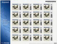 view Genentech 30th Anniversary digital asset: Postage Stamps, Genentech 30th Anniversary