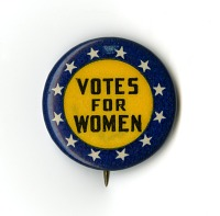 view Woman Suffrage Button digital asset number 1