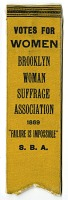 view Woman Suffrage Ribbon digital asset number 1