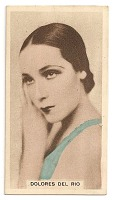 view Dolores del Río cinema card digital asset number 1