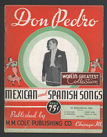view Don Pedro World's Greatest Collection Mexican and Spanish Songs digital asset number 1