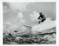 """view Photograph of Bruce Brown, director of the movie, """"The Endless Summer"""" released in 1966 digital asset number 1"""
