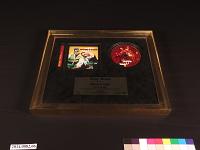 "view Sony Music Disco de Oro ""Otra Vez"" Award digital asset number 1"