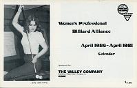 view Women's Professional Billiard Alliance calendar digital asset number 1