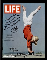 view Life magazine featuring first professional women skateboarder, Patti McGee digital asset number 1