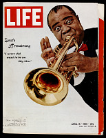 view Life Magazine featuring Louis Armstrong digital asset number 1