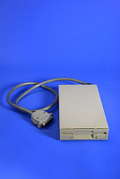 view Microcomputer Peripheral, Amiga 500 External Disc Drive digital asset: Microcomputer Peripheral, Amiga 500 External Disc Drive