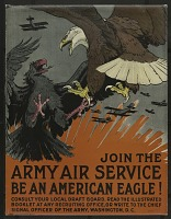 view Join the Army Air Service Be an American Eagle! digital asset number 1