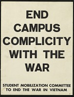 view End Campus Complicity Win the War digital asset number 1