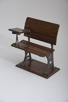 view John Peard's 1873 School Tablet Desk and Seat Patent Model digital asset number 1